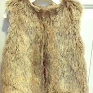 Osh Kosh Toddler Girl Faux Fur Vest